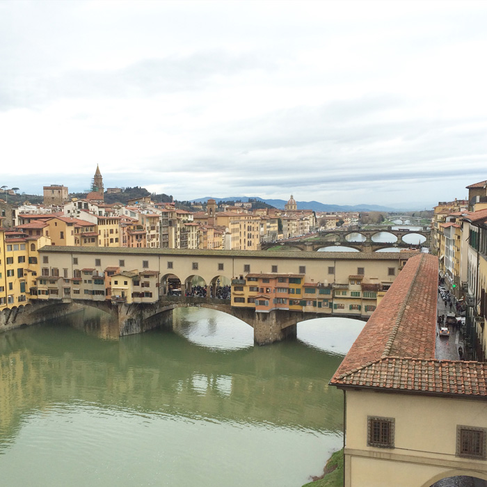 what are the most romantic places in florence ponte vecchio