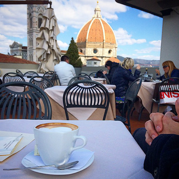 Where's The Best Place In Florence To Eat Lunch With A View?